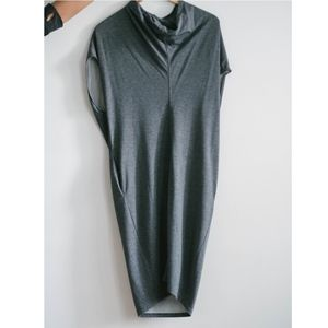 & Other Stories Mock Neck Dress with Pockets XS